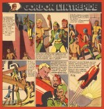 La fin de « Flash Gordon » par le Belge Egar P. Jacobs.