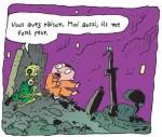 Michel et un zombie