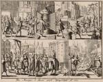 « L'Exécution de Concini, marquis d'Ancre » par Abraham Hogenberg.