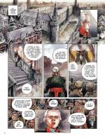 La flamme du patriotisme (planche 4 et mise en couleurs de la planche 15 - Le Lombard 2018)
