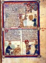 Bible en français, peinte à Saint-Quentin en 1350.