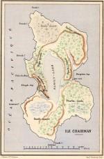 Carte de l'île Chairman