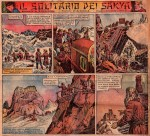 « II Solitario dei Sakya » par Antonio Canale et Federico Pedrocchi.