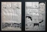 Le public ne le savait peut-être pas, mais il existe six versions différentes «du manga «Le Roi Léo». À l'instant d'Hergé, Tezuka a peaufiné son œuvre au fil de sa carrière afin d'offrir des séries à même de plaire à ses contemporains. Au-dessus des quelques planches originales présentées, une chorologie illustrée montrait le cheminement de cette œuvre à travers les époques.