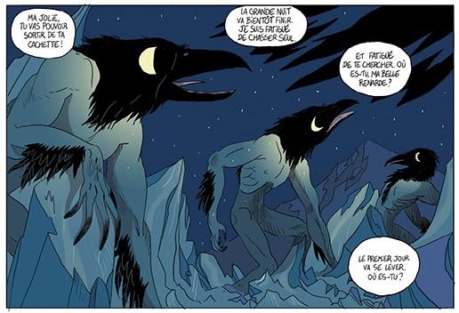 Taqqiq le corbeau lune