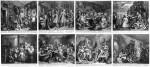 « The Rake's Progress » par William Hogarth.