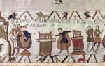La Tapisserie de Bayeux.