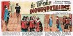 « Les Trois mousquetaires » par René Giffey.