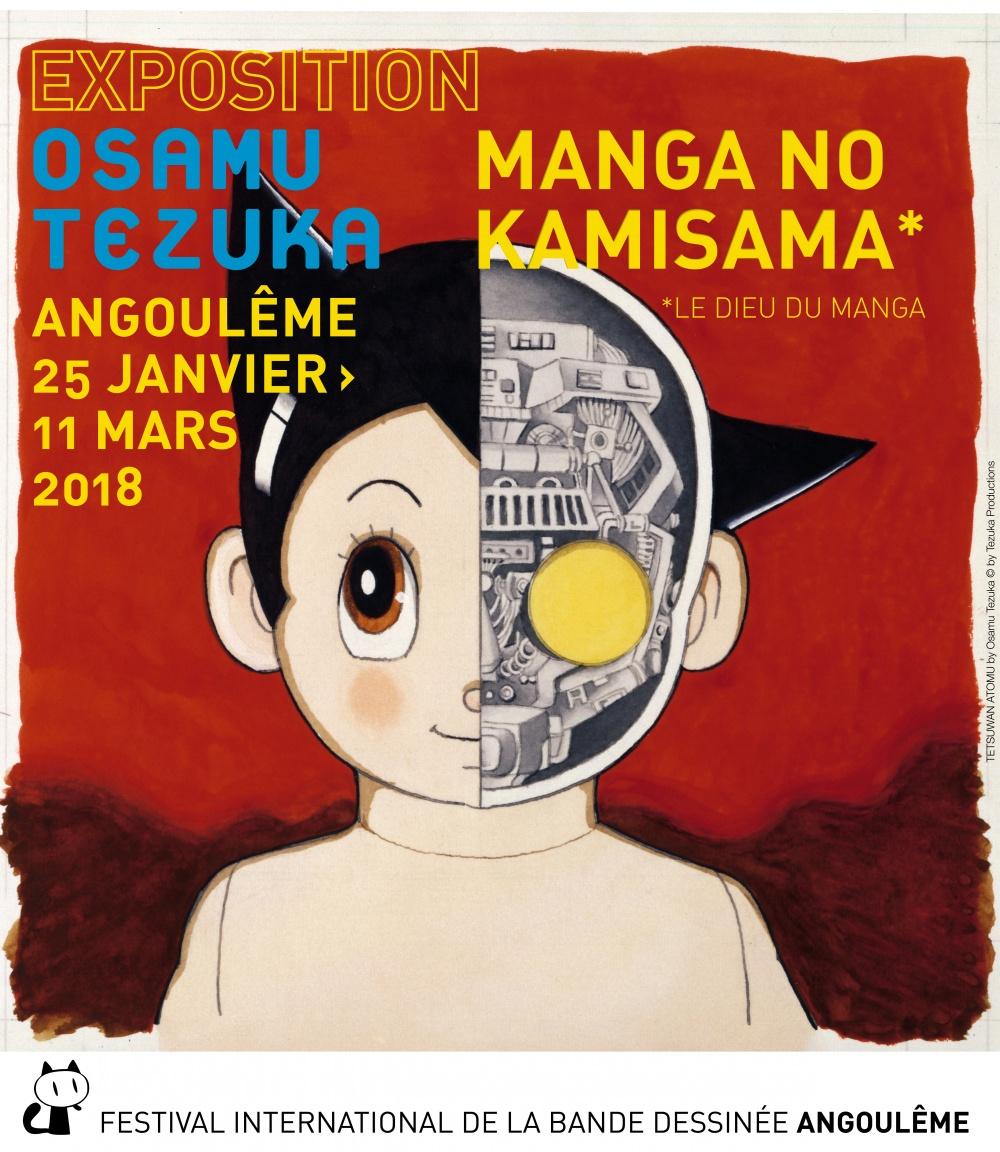 En revanche, les visiteurs de la cotée Angoumoisine auront jusqu'au 11 mars 2018 pour apprécier les deux cents planches originales d'Osamu Tezuka venues directement du Japon et exposées au musée d'Angoulême.