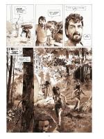 Des hommes piégés (planches 6 et 15 - Casterman 2018)