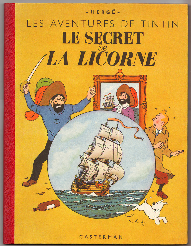 1er plat édition originale en couleurs A20 octobre 1943. Collection Philippe Dognon.