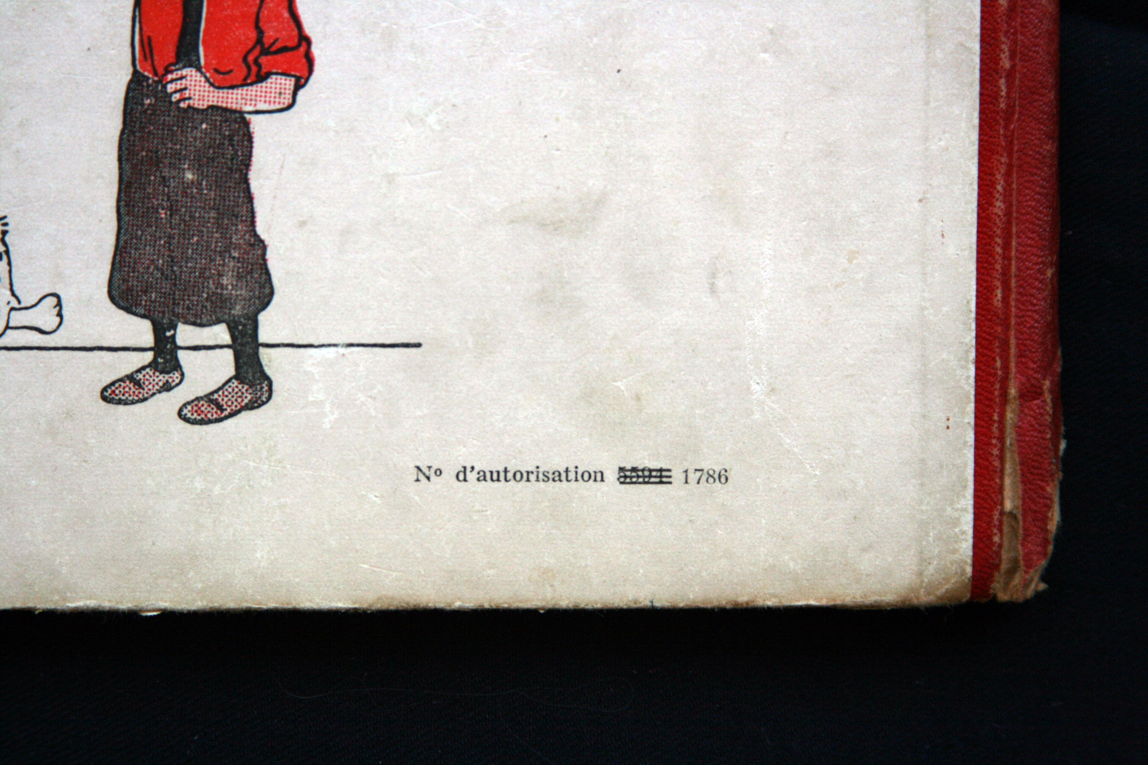 """N° barré sur """"Licorne"""" dite A21. 500 exemplaires furent réalisés."""
