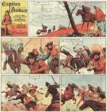 « Capitan L'Audace » par Walter Molino et Federico Pedrocchi.