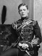 Churchill en 1895 et durant la seconde guerre des Boers