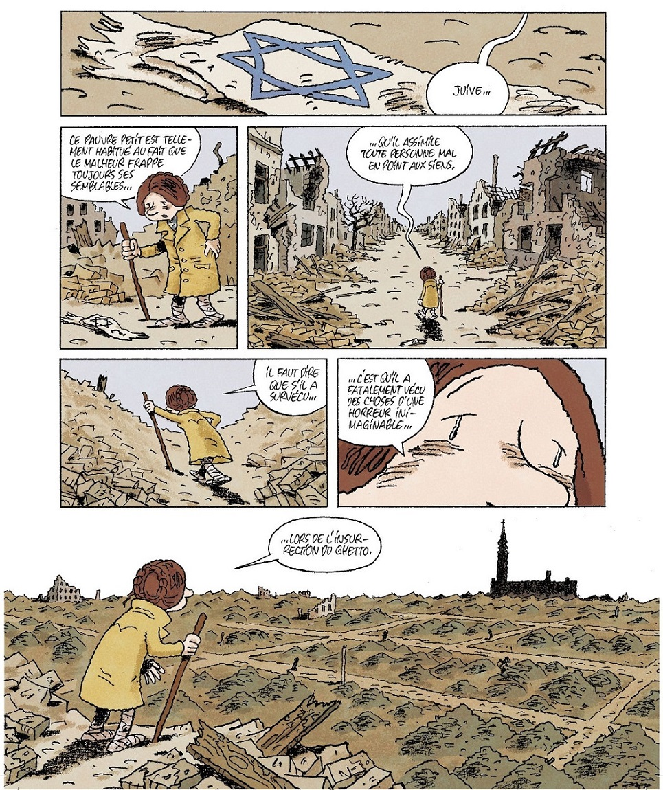 Varsovie détruite en 1944
