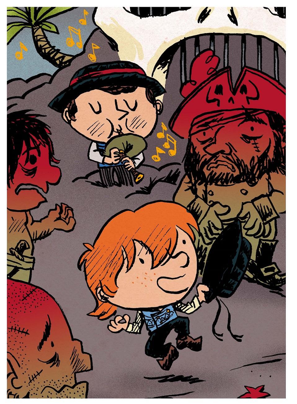 Pirate ! Le pirate qui avait le mal de mer page 25
