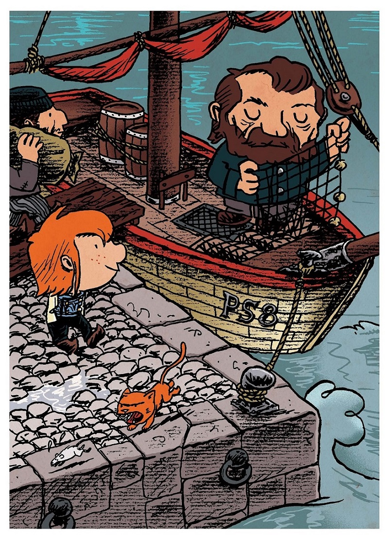 Pirate ! Le pirate qui avait le mal de mer page 6