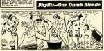 « Phyllis, Our Dumb Blonde » par Arthur John Ferrier.