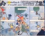 « Les Aventures de Bimelabom et sa petite sœur Chibiche » par Jacques Laudy.
