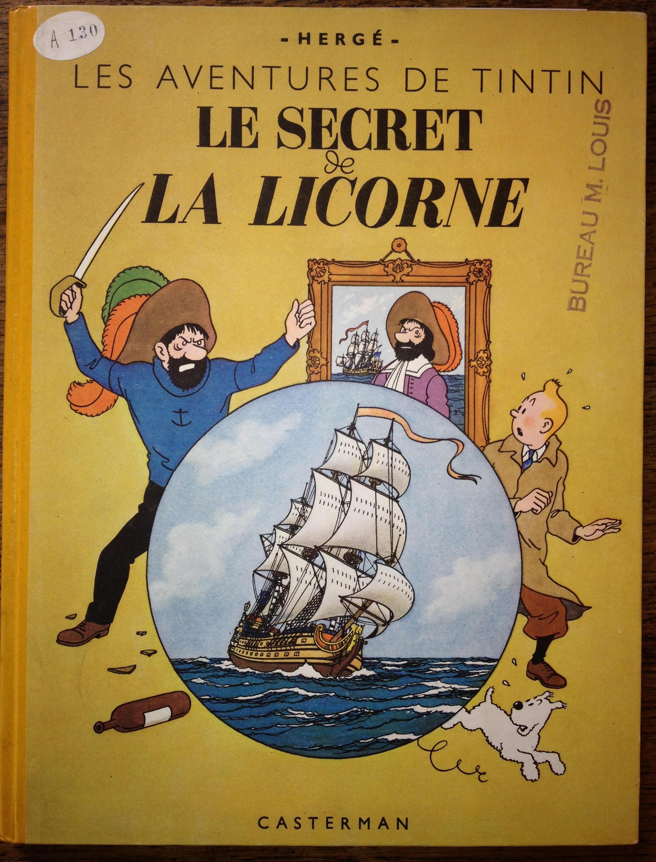 Seconde édition A23 des archives Casterman sous Numéro A130 (exemplaire unique du bureau de M. Louis).