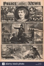 Des crimes qui font la une du Illustrated Police News en 1888