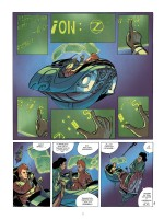 Un Spirou retro-futur digne de Moebius (planche 5 - Dupuis 2018)