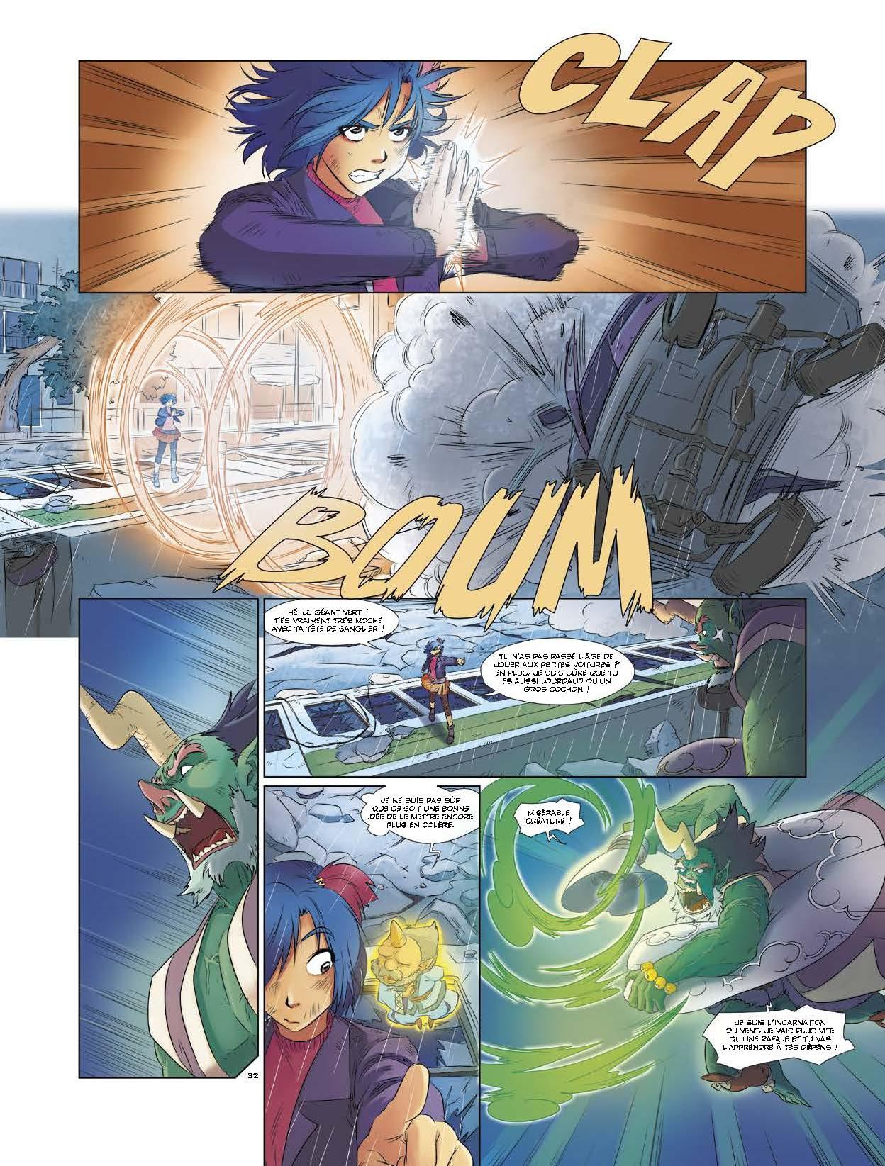 Les Mythics T1 page 34