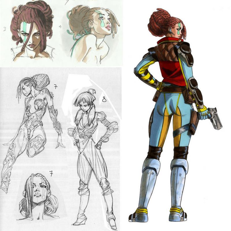 Recherches pour le personnage de Milla