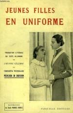 """Couverture de la première traduction française de """"Jeunes filles en uniforme"""" (Fasquelle, 1932)"""