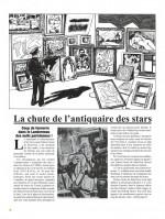 Un maître pris dans la toile (pages 8 et 9 - Dupuis 2018)