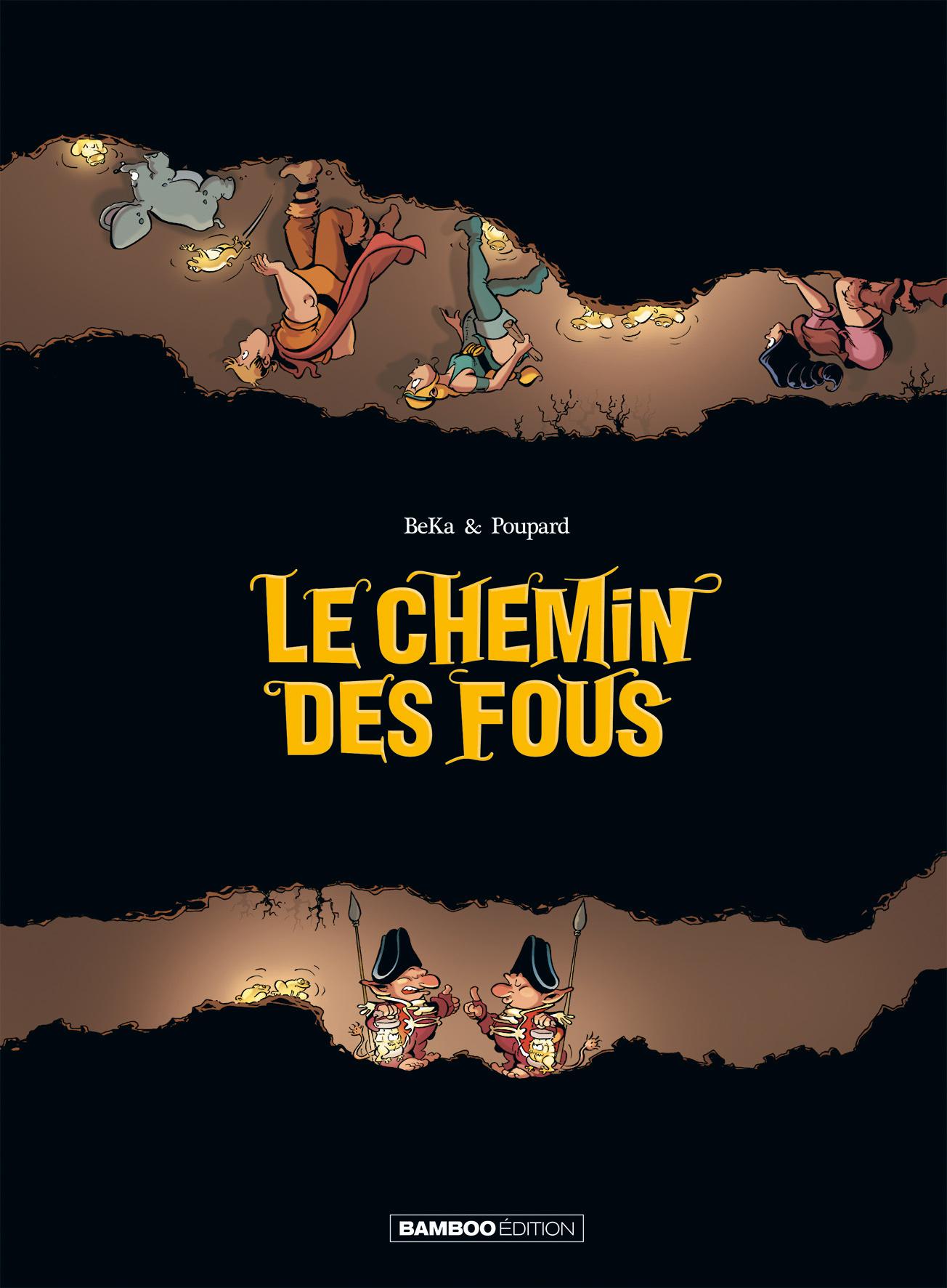 CHEMIN DES FOUS (LE)-1e de COUV