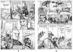 Esclaves de l'île de Pâques crayonné pages 41 42
