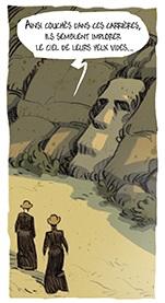 Esclaves de l'ile de Pâques page 43 case
