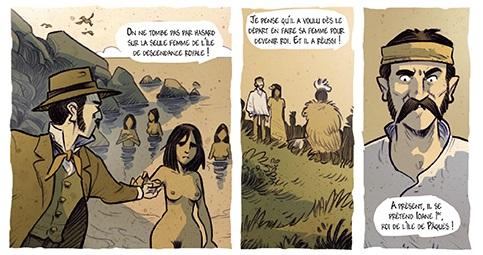 """Le """"roi"""" de l""""île de Paques"""