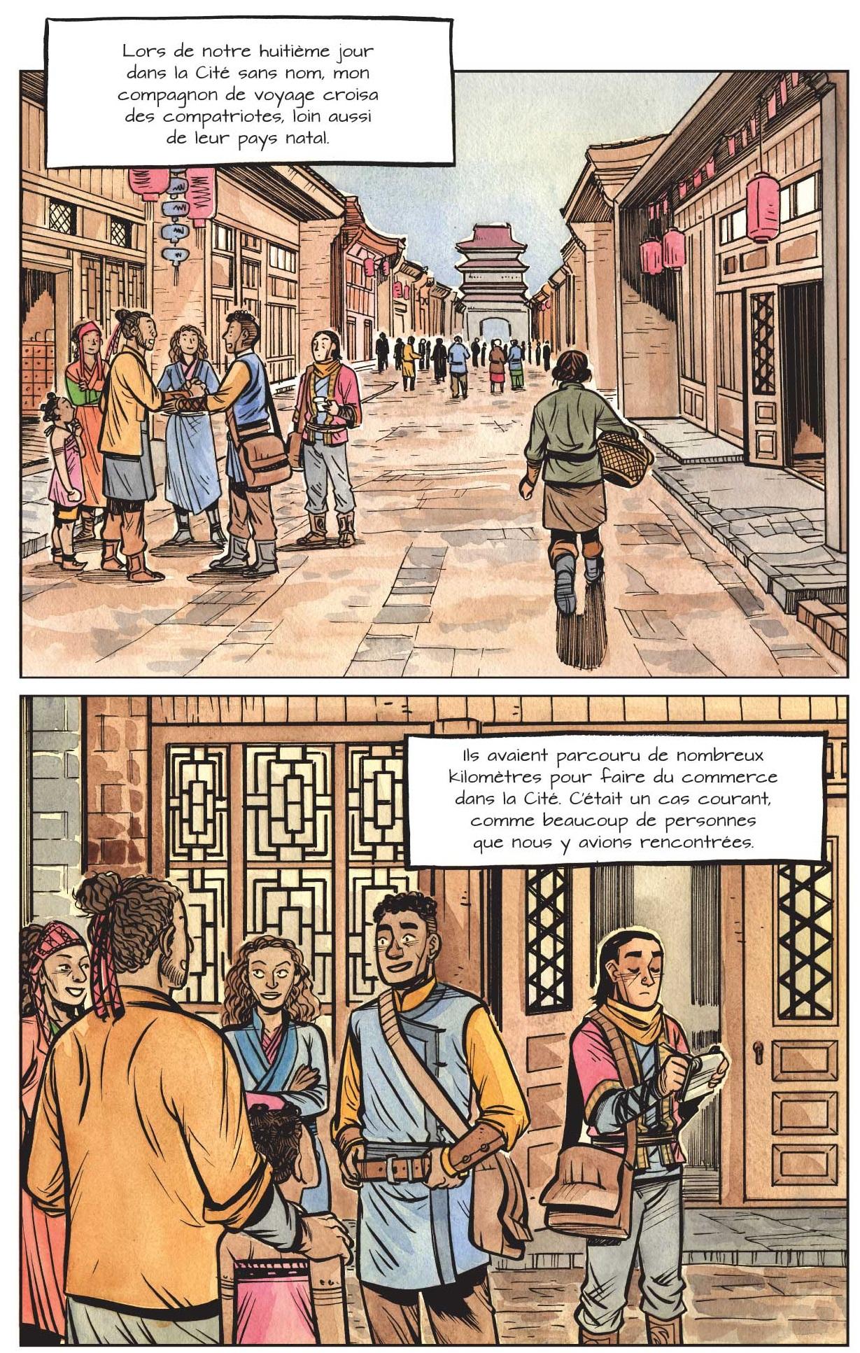 La Cité sans nom T2 page 3