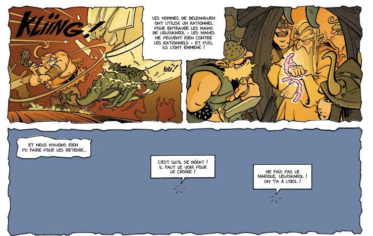 Le Chemin des fous page 19 bande 1