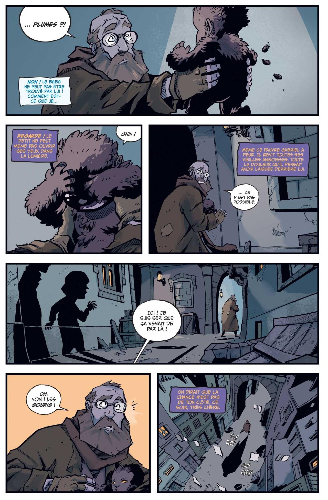 Les incroyables aventures de l'enfant plume  page 5