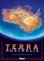 Terra Australis : couverture et planche 1 (Glénat 2013)