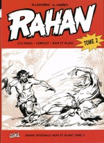 """Le tome 2 de l'intégrale Rahan en N&B, dans lequel est repris """"Le Collier de griffes"""" (Soleil, mars 2009)"""