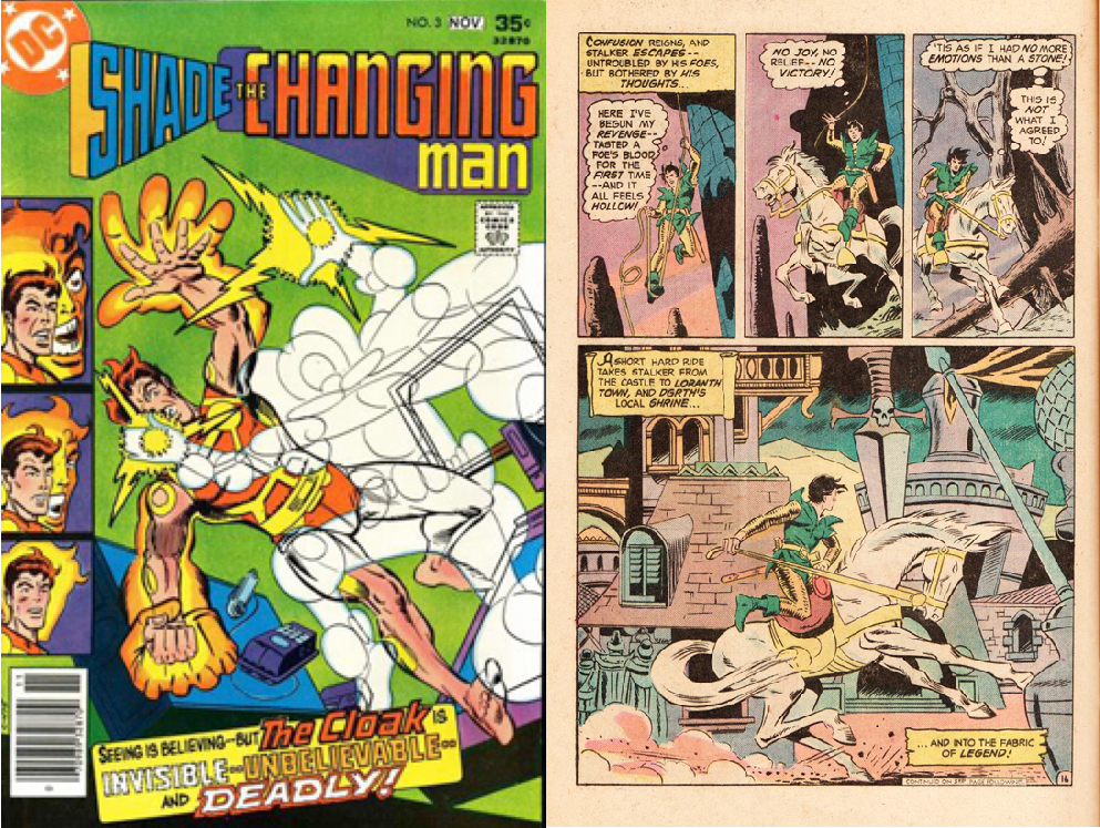 Ditko-Shade changing man