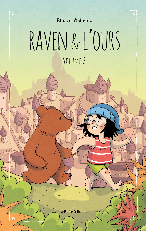 Raven & l'ours T2 couverture