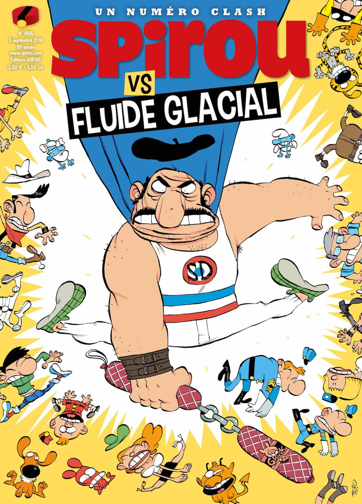 SPIROU VS FLUIDE GLACIAL