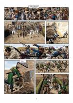 Insurgés royalistes et troupes républicaines lors de la bataille de Montréjeau (19 et 20 août 1799) - Planche 3 (Soleil 2018)
