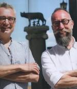David B. et Giorgio Albertini