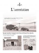 L'arrestation de Francine et de sa sœur (Planche 5 - Glénat 2018)