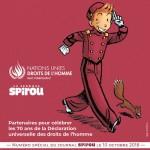 Spirou (et Spip !), ambassadeur des Droits de l'Homme pour les Nations Unies