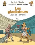 Fil de l histoire Les gladiateurs couverture