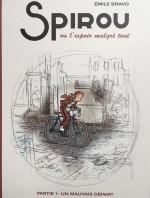 Couverture de la version preview destinée aux journalistes et aux libraires (Dupuis 2018)