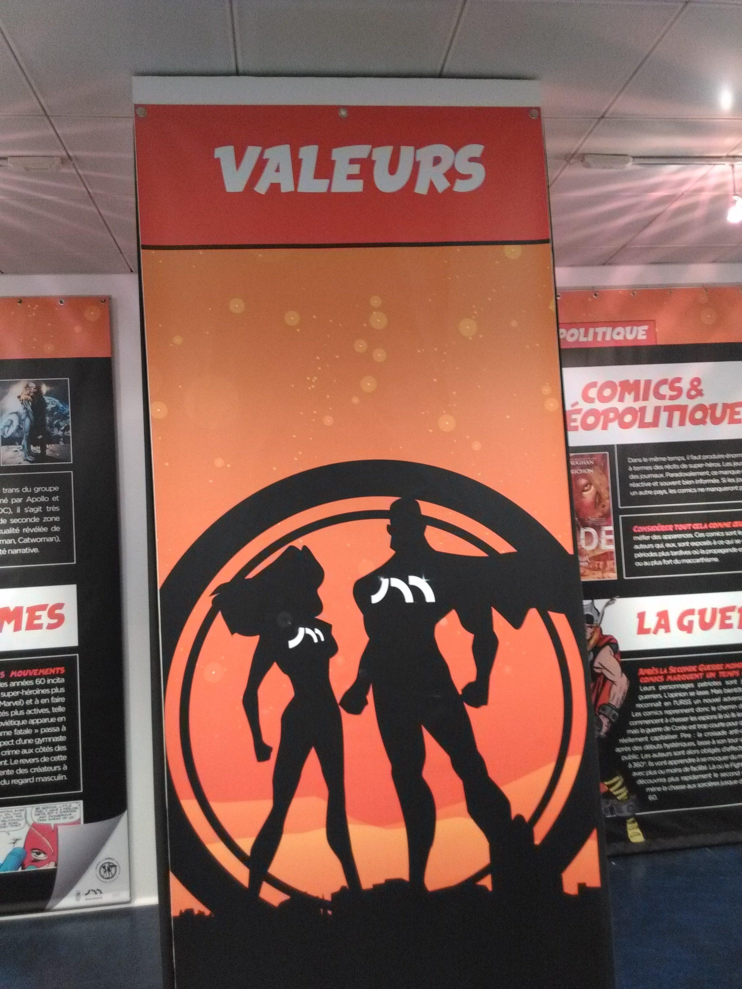 Societé comics valeurs