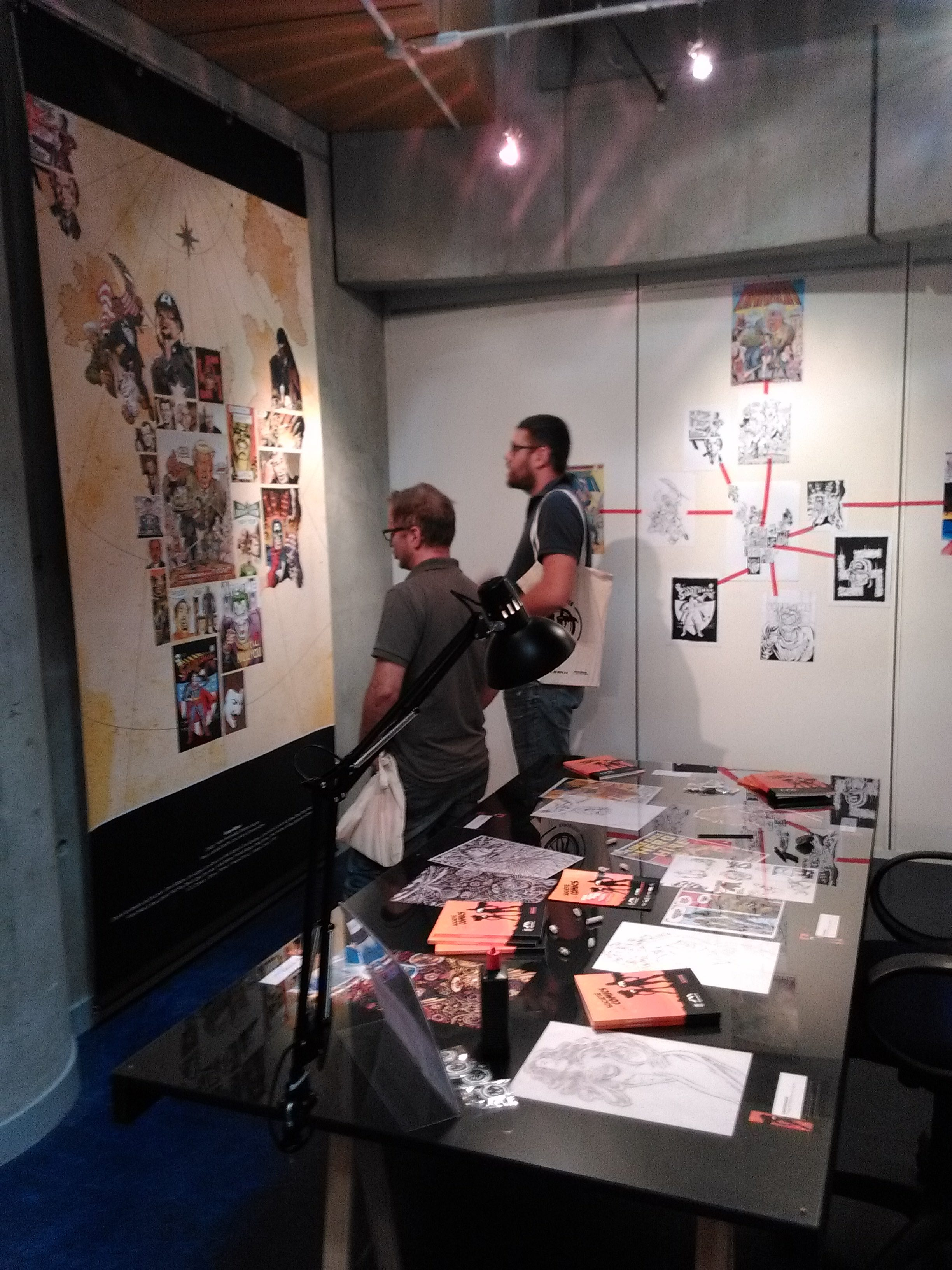 Societe comics expo table dess